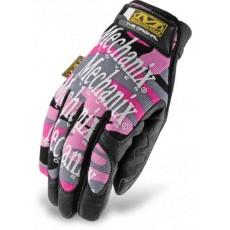 Original woman  pink camo - rękawice MECHANIX
